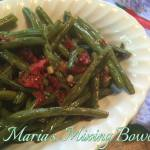 Green Beans with Garlic and Sun-Dried Tomatoes