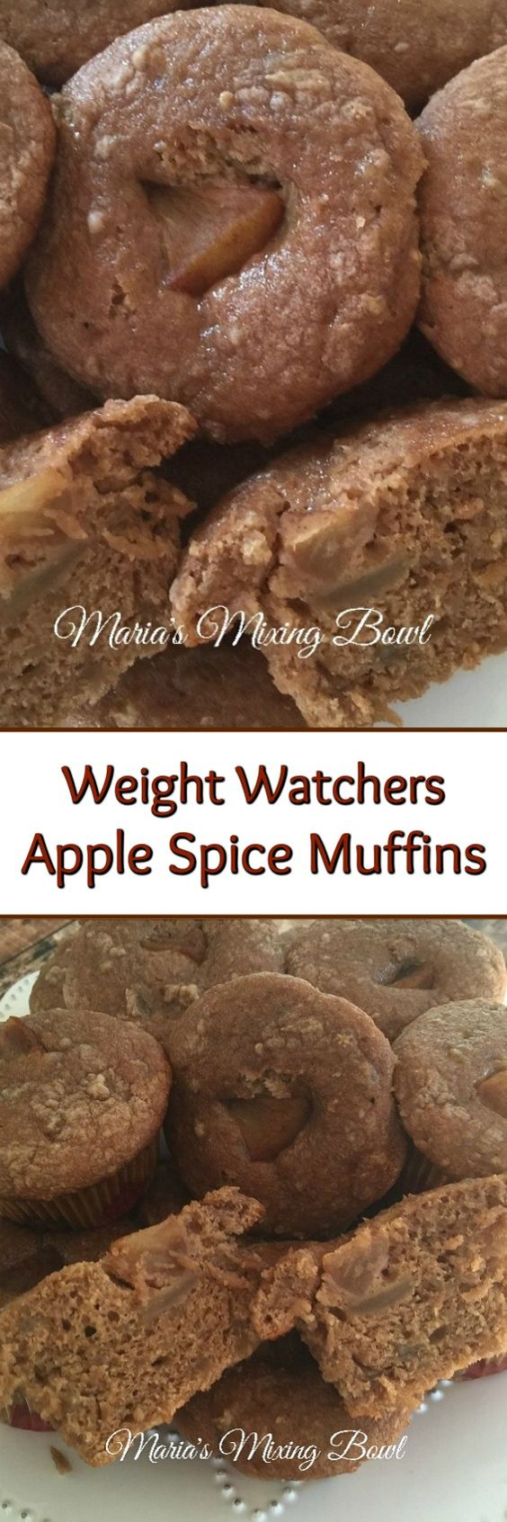 These Weight Watchers Apple Spice Muffins are so good.  I make these all the time. They are a perfect little breakfast treat or snack. The whole family loves these.