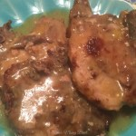 Easy One Skillet Pork Chops with Gravy