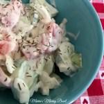 Creamy Dill Cucumber Tomato Salad