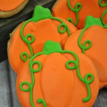Pumpkin Spice Sugar Cookies