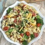 Broccoli Bacon Ranch Pasta Salad