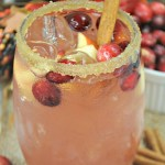 Instant Pot Cranberry Apple Bourbon Cider