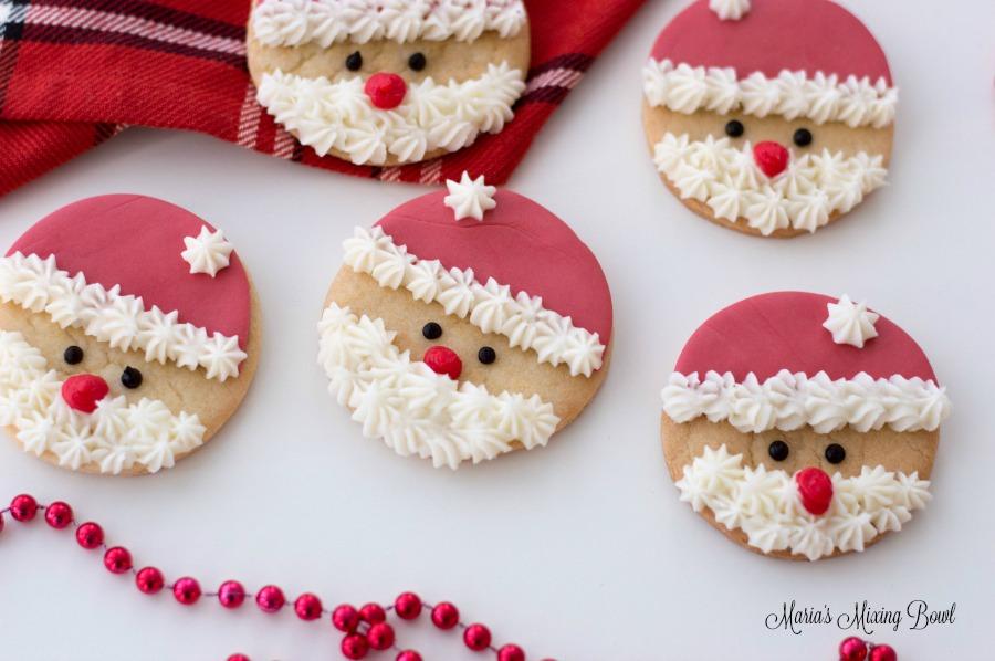 Santa Sugar Cookies Maria S Mixing Bowl