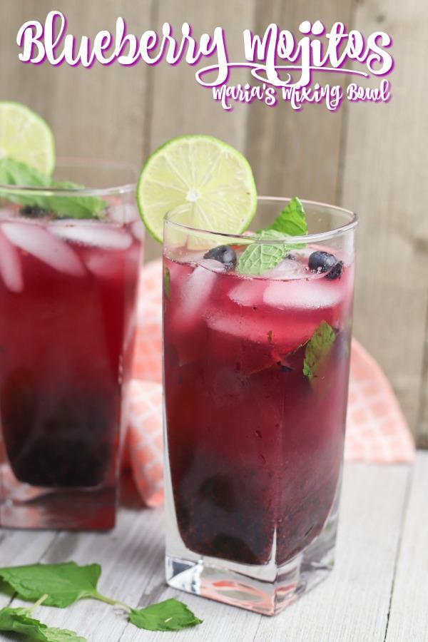 Blueberry Mojjitos