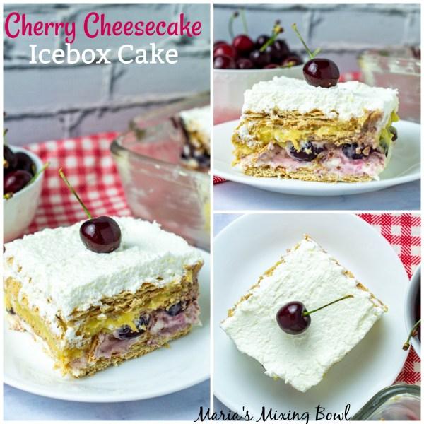 cheesecake cherry icebox cake