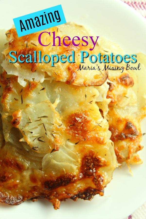 Amazing Cheesy Scalloped Potatoes