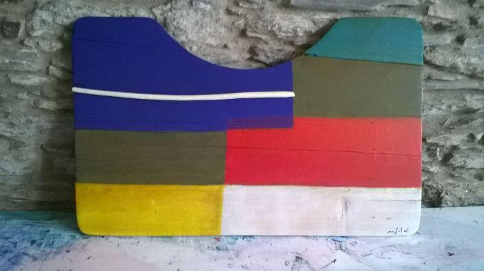 Obra sobre fusta 5