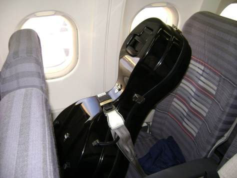 I wonder if the cello gets an inflight meal.