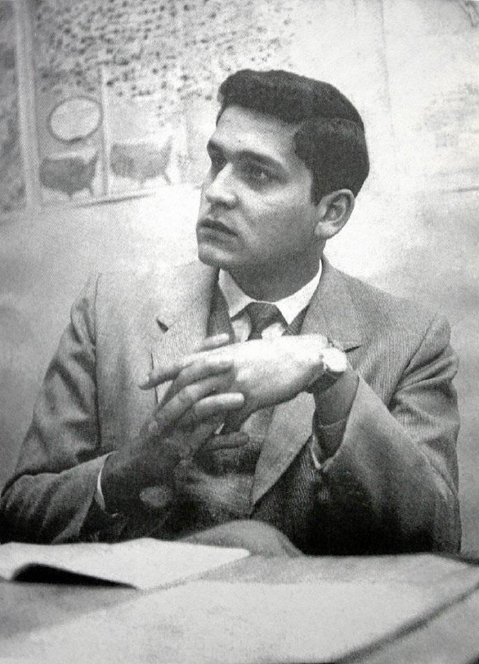 9 de enero, se cumplen 73 años del natalicio del poeta Javier Heraud.