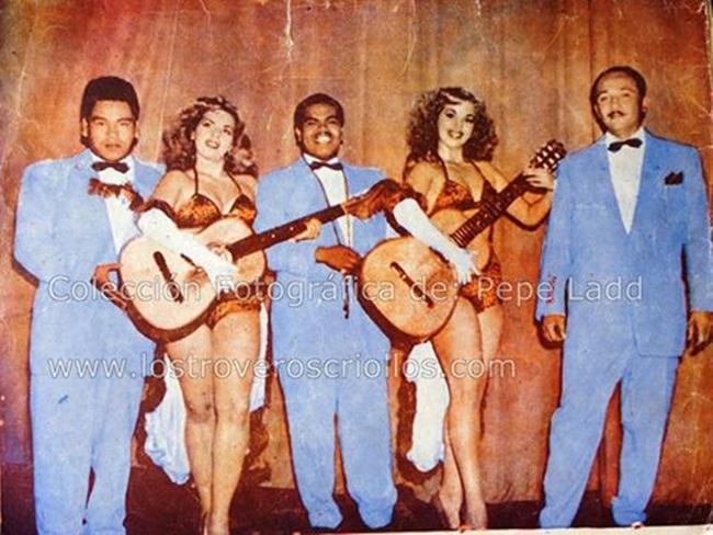 Los E. C con las hermanas Vasquez Las Dolly Sister