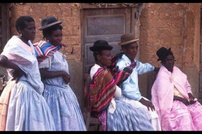 Gente morena en Bolivia
