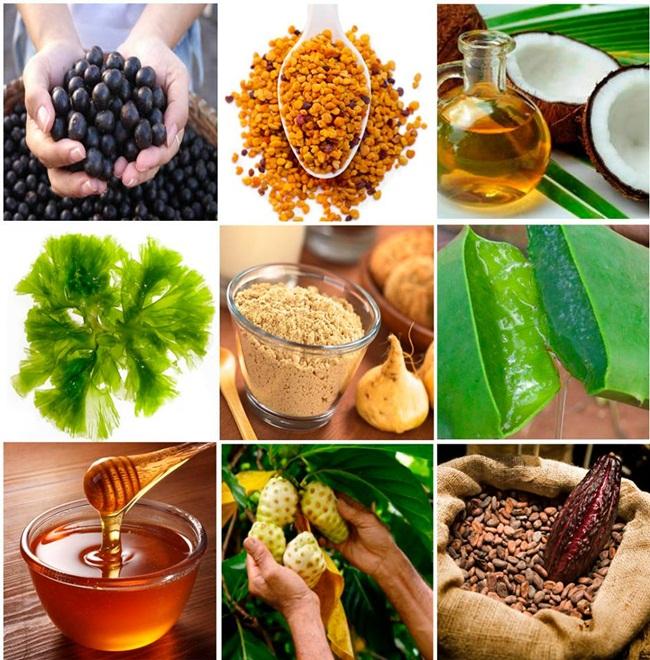 Doce alimentos energéticos