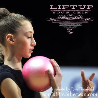 Maria Titova-Lift Up Your Chin, Walk Tall, God Loves You!