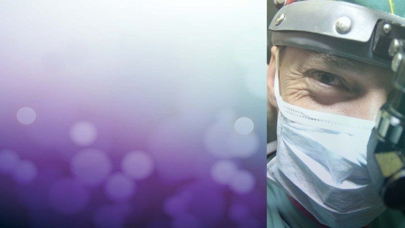 a bokeh image of a surgeon on the microsite of the center for health tourism strategy
