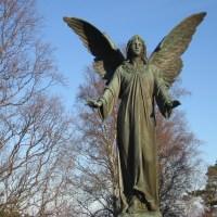 Allhelgona vandring vid Frösö kyrka och Sommarhagen...