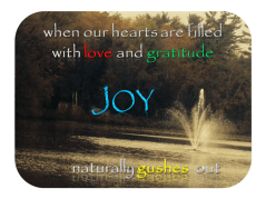 What brings you joy - Coffee for Your Heart blog post - Holley Gerth