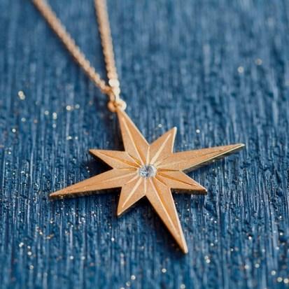 Everlasting Light - North Star Necklace