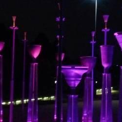 Federation bells at night