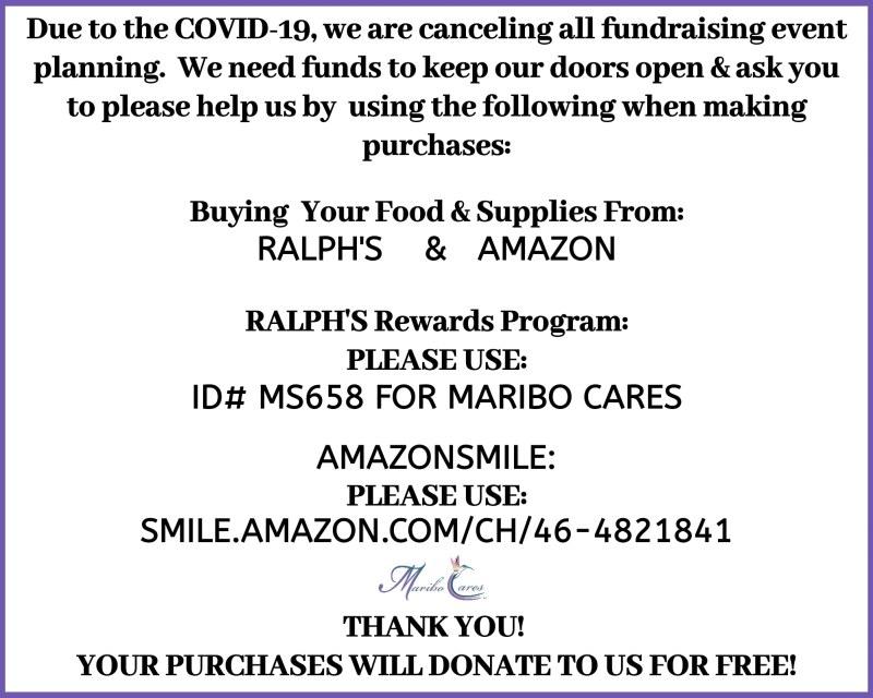 Covid19 AmazonSmile Ralphs Rewards