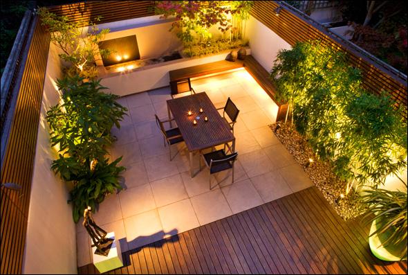 garden design ideas city gardens