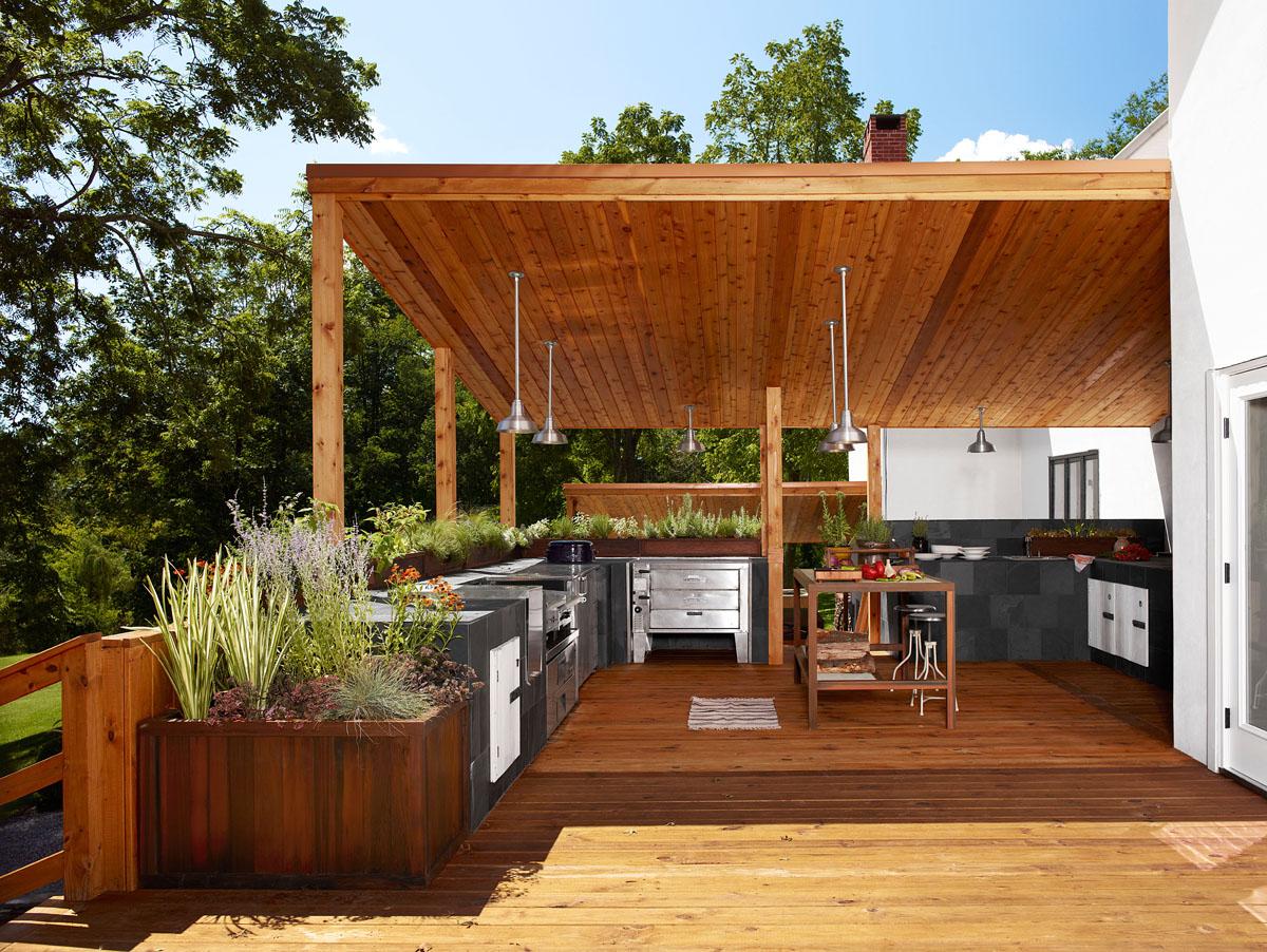 Home Design Inspiration Modern Outdoor Kitchens  Studio