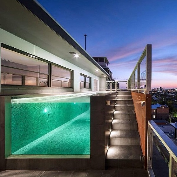 Home Design Inspiration Contemporary Pool Ideas  Studio MM Architect