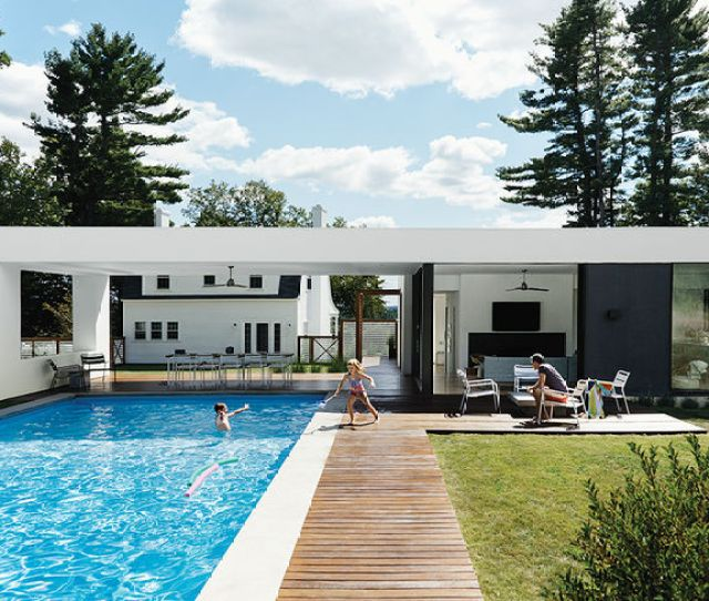 Residential Design Inspiration Pool Canopy Shady Spots