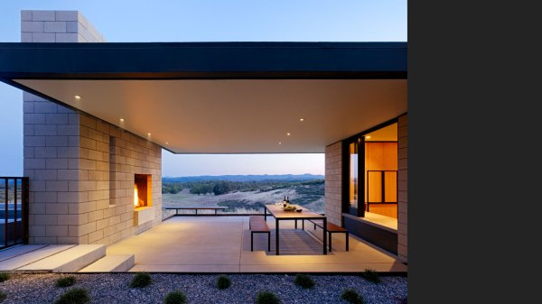 Modern Residential Architecture Outdoor Living Space - Studio Mm Architect