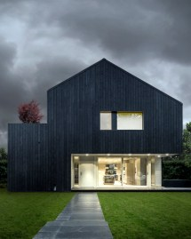 Black Modern House Architecture