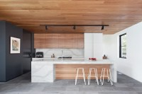 Residential Design Inspiration : Modern Wood Kitchen