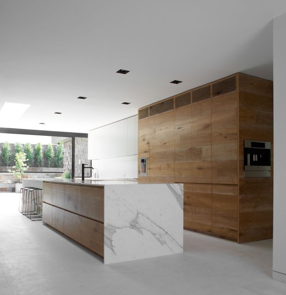 modern architecture kitchen Residential Design Inspiration : Modern Wood Kitchen