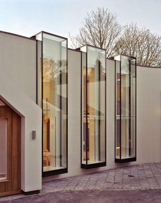 Residential Design Inspiration: Modern Bay Window