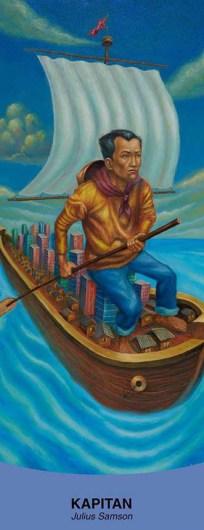 Julius Samson, Kapitan