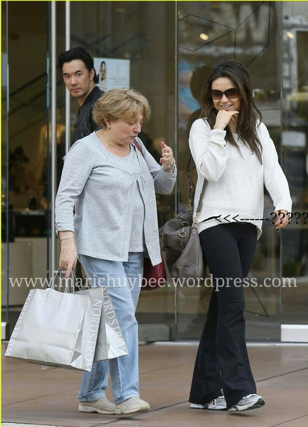 Mila Kunis & Ashton Kutcher Engaged Report Marichuybee
