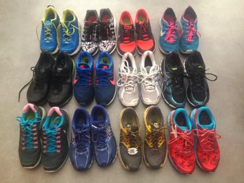 Donderdag schoenen voor loopmaatjes