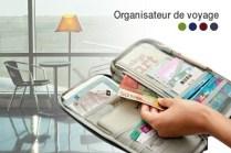 Organiseur de papiers - voyage