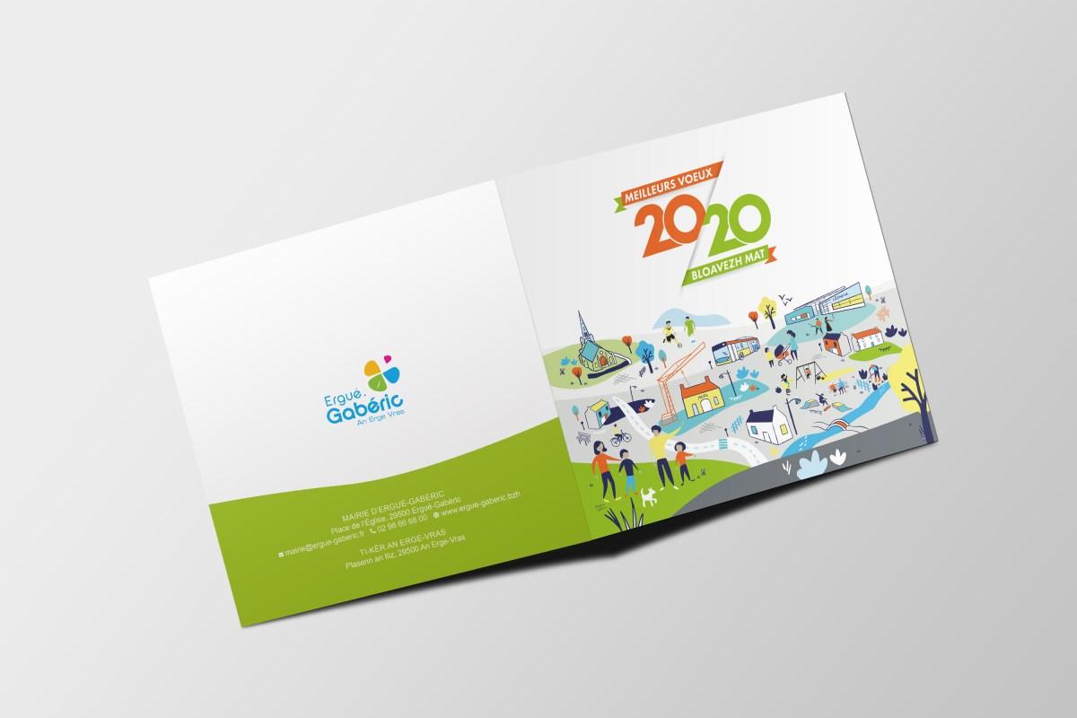Carte de voeux 2020 - présentation 1