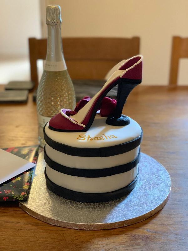 Shoe cake 5