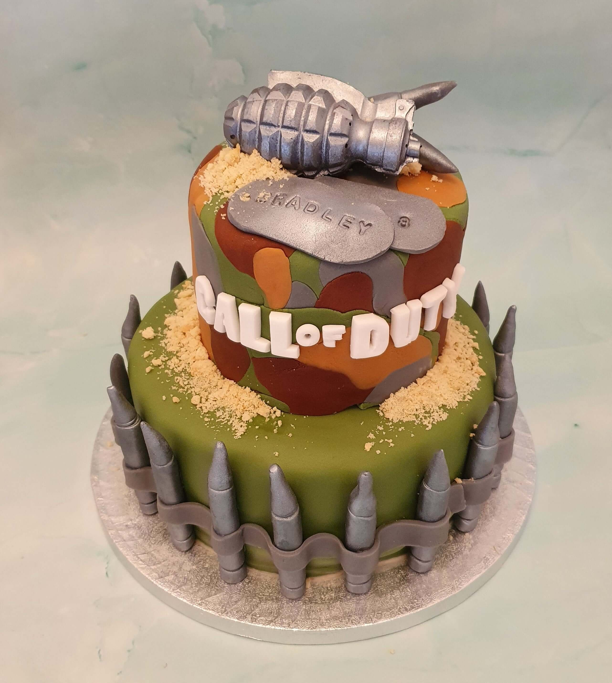 Call of Duty Birthday Cake Marie Makes Milton Keynes