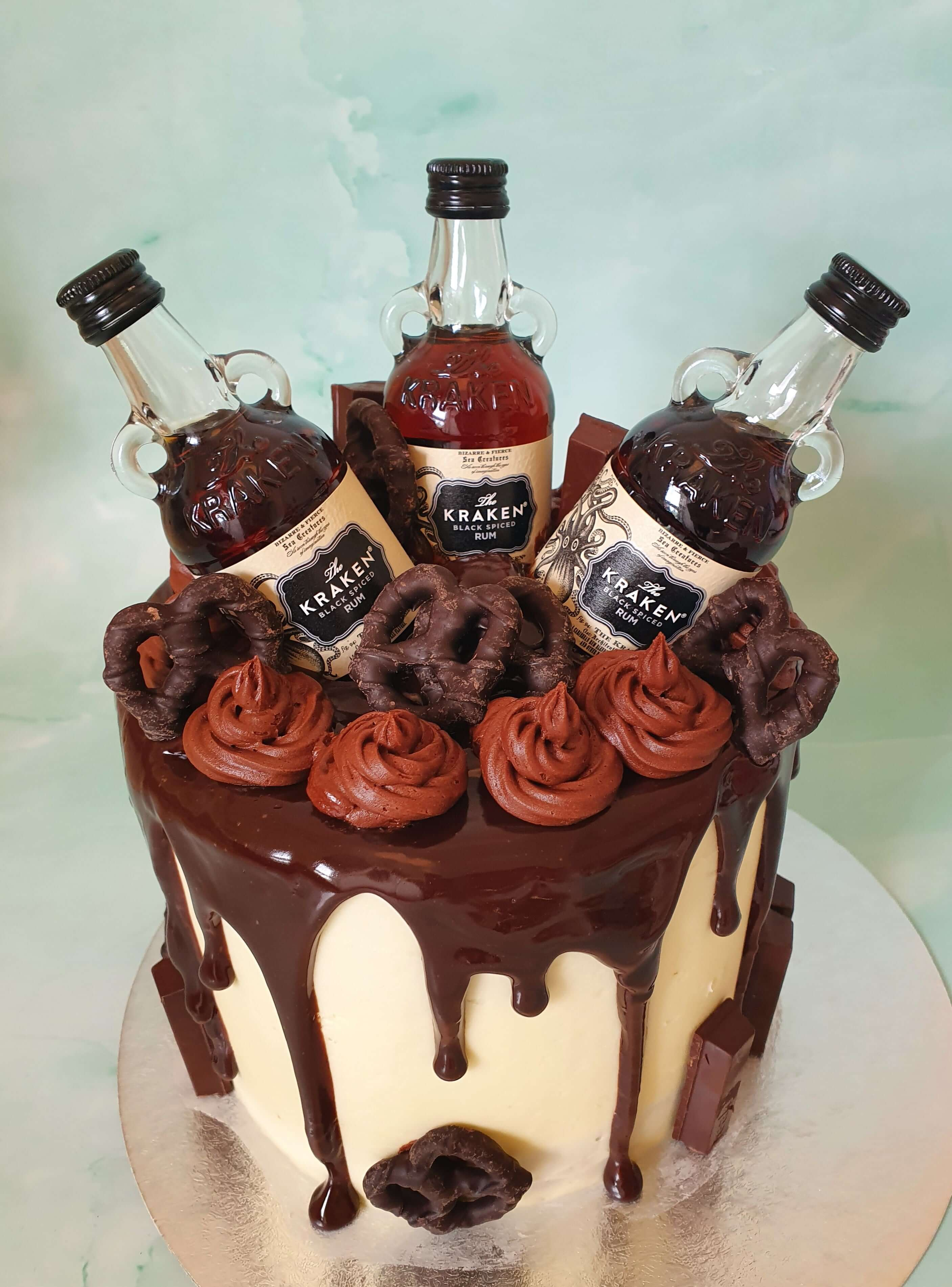 Run Chocolate Drip Birthday Cake Marie Makes