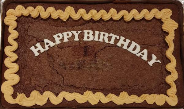 Celebration Brownie Tray Personalised Marie Makes