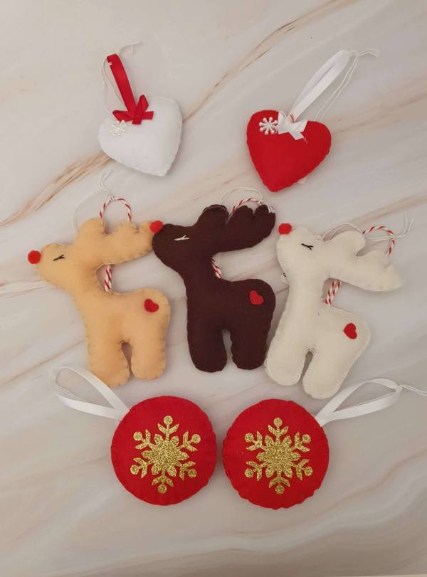 Felt_Christmas_Decorations_Assorted_Marie_Makes_Milton_Keynes