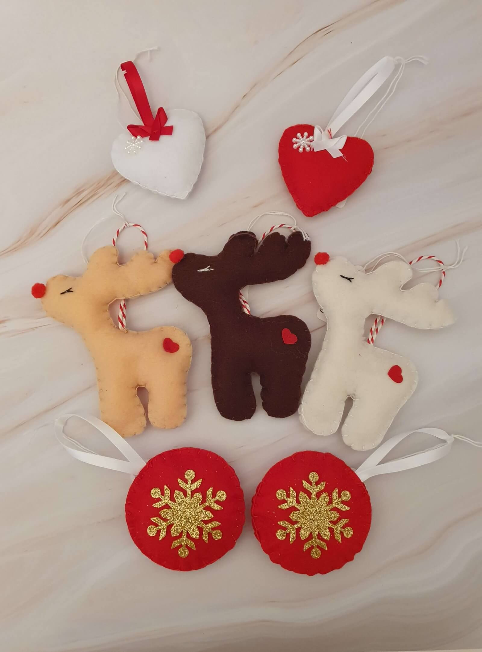 Felt_Christmas_Decorations_Assorted_Marie_Makes_Milton_Keynes
