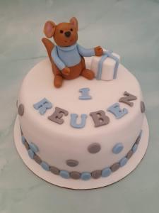 Winnie the Pooh Roo Baby Birthday Cake Marie Makes Milton Keynes