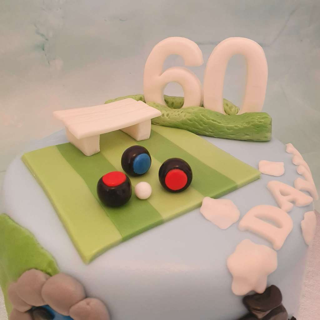 Bowls birthday cake ideas for men delivered in Milton Keynes