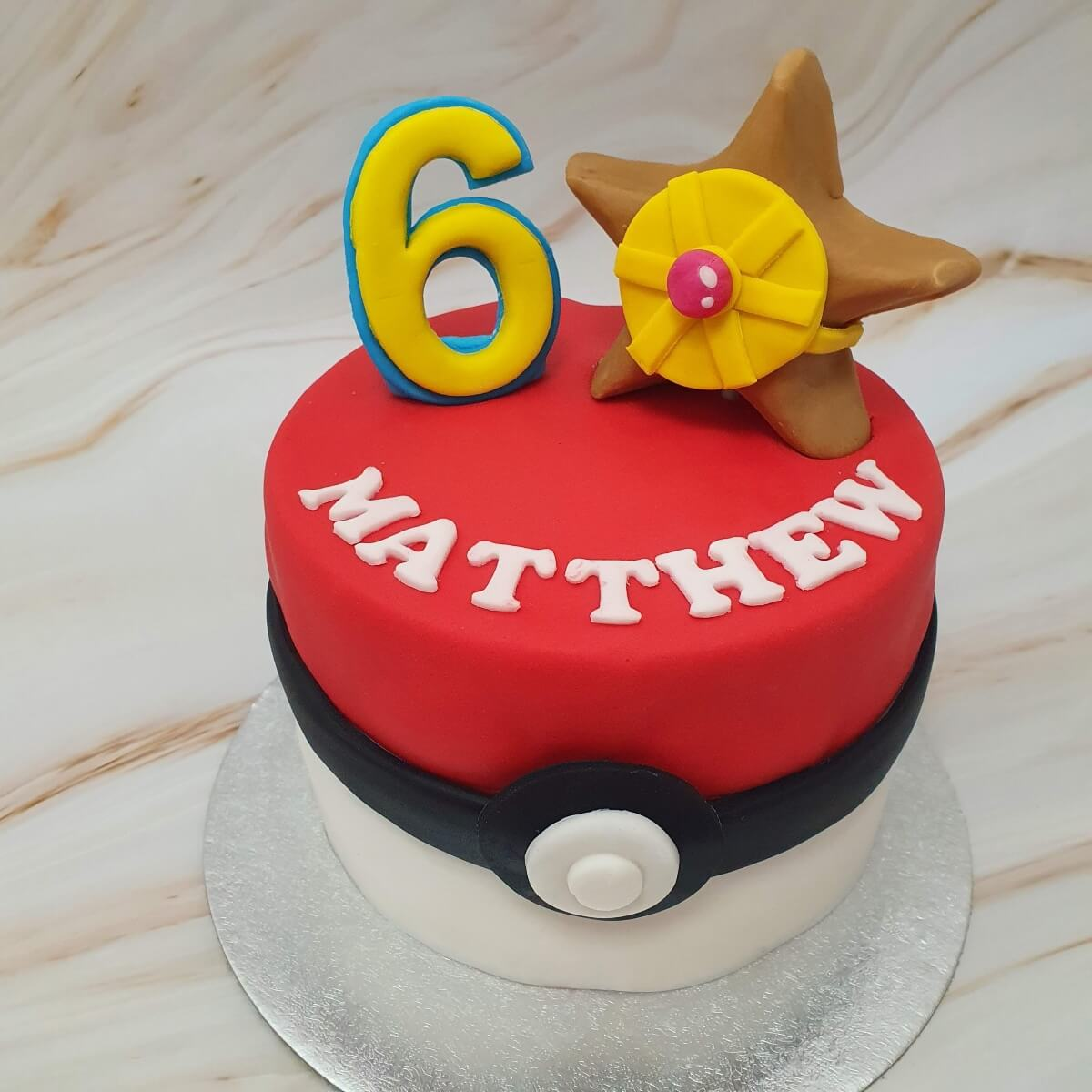 Pokemon Pokeball Children's Birthday Cake Delivered Milton Keynes