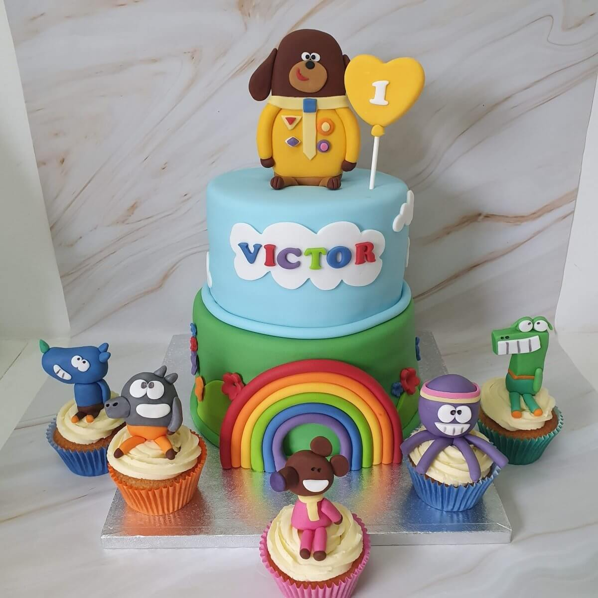 Hey Duggee and The Squirrels 1st Birthday Cake Delivered Cake Maker Milton Keynes