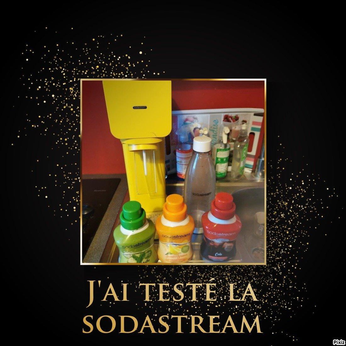 j'ai testé la sodastream