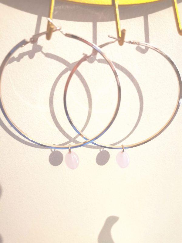 créoles perle